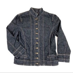 Ralph Lauren dark wash denim jacket - small
